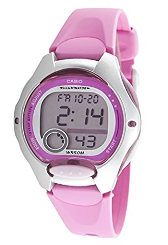 Casio Collection – Damen-Armbanduhr mit Digital-Display und Resin-Armband – LW-200-4BVEF