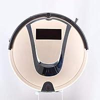SUN HUIJIE Robot de Barrido Inteligente aspiradora Inteligente Hogar Cuerpo Delgado Succión Fuerte trapeador Barredor (Color : Oro)