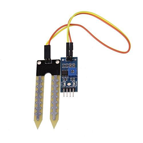 Daorier suelo la humedad módulo de Sensor de humedad higrómetro alta sensibilidad para pi, jardín...