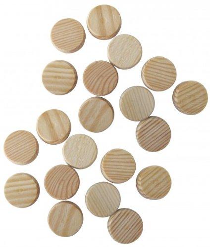 Konusplättchen Kiefer 15 mm (40 Stück)