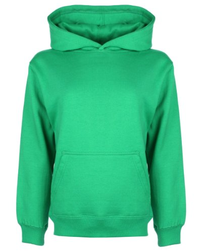 FDM Junior Hoodie Grün - Kelly Green