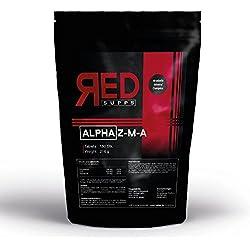 ALPHA Z-M-A   180 vegane Tabletten für 3 Monate Versorgung   Mineralien-Komplex: Zink Magnesium Vitamin B6   Testosteron-Booster - Proteinsynthese - Muskelfunktion + Musklaufbau   hochdosiert