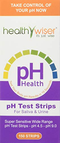 pH Test Strips 150ct + BONUS Alkaline Food chart PDF + 21 Alkaline Diet  Recipes eBook For pH Balance, Quick and Accurate Results in 15 seconds,  Check