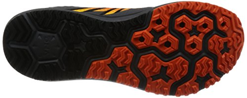 Brooks Caldera, Chaussures de Course Homme Multicolore (Anthracite/redorange/black)