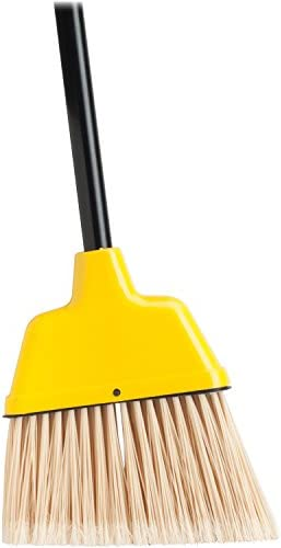 Genuine Joe - Angle Broom, High Performance Bristles, 9    W, giallo, Sold as 1 Each, GJO58562 | Prezzo Pazzesco  | Di Alta Qualità  | Ottimo mestiere  97a77f