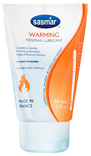SASMAR Warming Lubrifiant Gel Intime à Base d'Eau Tube 50 ml