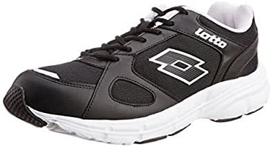 Lotto Men's Omega Ii Black and White Running Shoes - 11 UK/India (45 EU)