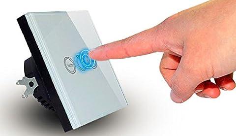 Verre minuterie interrupteur tactile UE modèle Home Interrupteur