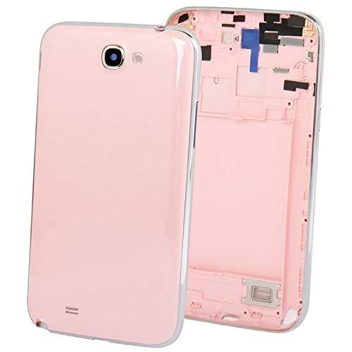Pink Full Housing (YOUZHIXUAN Mymobile Original Full Housing Chassis mit rückseitiger Abdeckung + Lautstärketaste für Galaxy Note II / N7100 (Pink) (Farbe : Rosa))