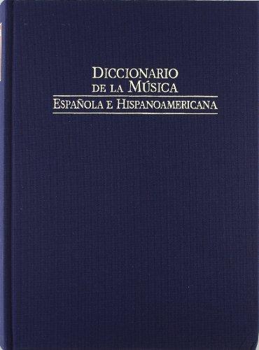 Diccionario de la musica española e hispanoamericana vol. 9 (Fondos Distribuidos) por Rabago