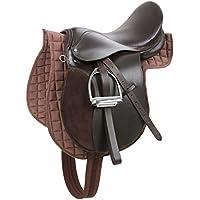 Kerbl Silla de montar Haflinger cuero marrón 32198