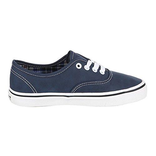 Ital-Design, Sneaker donna Blu (blu scuro)
