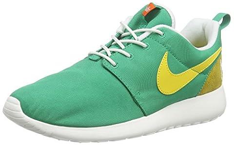Nike Men's NIKE ROSHE ONE RETRO Low-Top Sneakers, Verde / Amarillo / Blanco (Lucid Green / Vivid Sulfur-Sail), 8.5 UK