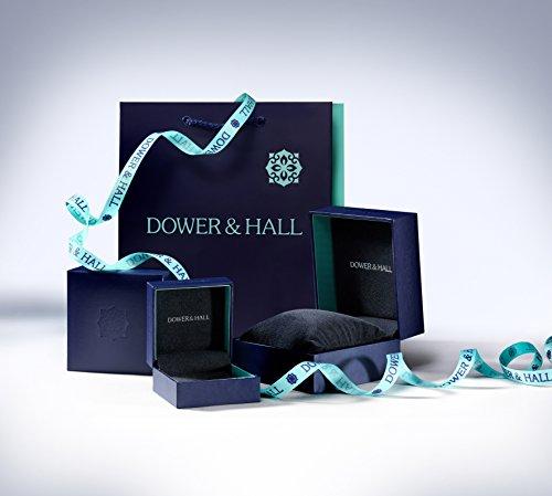 Dower & Hall Pearlicious Armband Sterling-Silber 925 Barock Süßwasserperle 19cm - 4