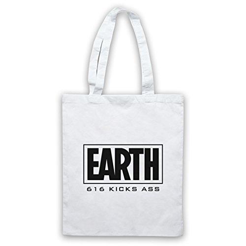 Inspire par Marvel Comics Earth 616 Kicks Ass Officieux Sac d'emballage