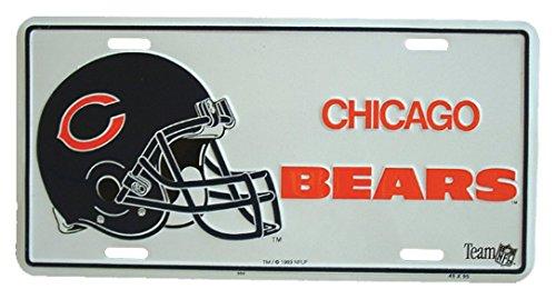 Preisvergleich Produktbild Blechschild Chicago bears - 30cm x 15cm