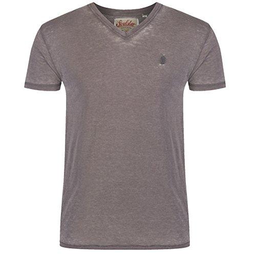 SoulStar Herren T-Shirt Grau - Dirty Grey