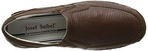 Josef Seibel Edric 27, Chaussures bateau homme Marron - Braun (bark/oliv)