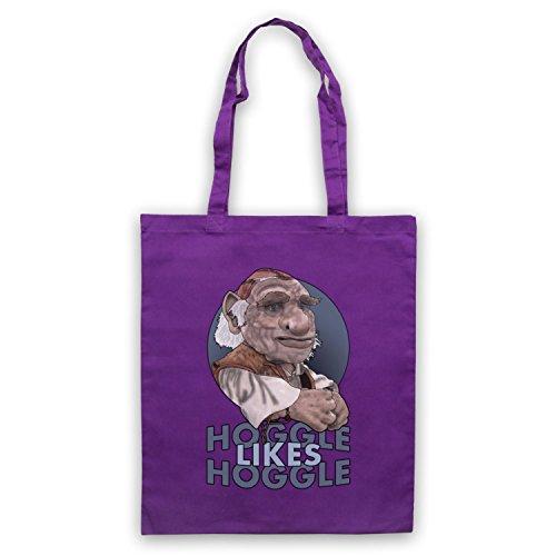 Inspiriert durch Labyrinth Hoggle Likes Hoggle Inoffiziell Umhangetaschen Violett