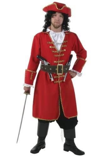 Plus Size Captain Blackheart Fancy dress costume 5X