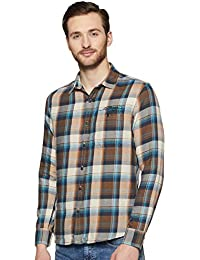 Ed Hardy Men's Checkered Slim fit Casual Shirt