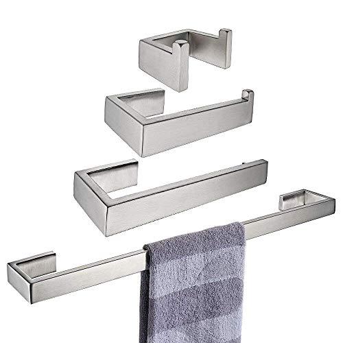 Bathfirst Toilettenrollenhalter Handtuchring Handtuchhaken Handtuchhalter Edelstahl Stillfor Badezimmer
