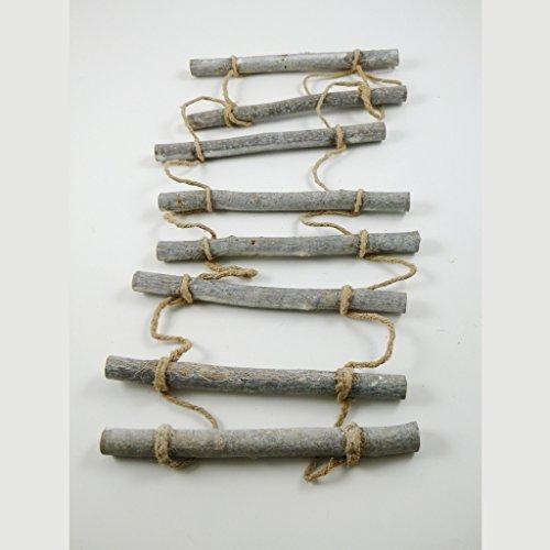 Holzleiter zum Hängen 24 x 98 cm natur - 62232 (Hängen Leiter)