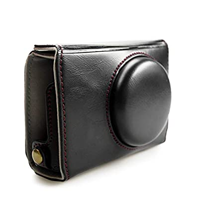 kinokoo Protective Case Bag for Fuji XF10 Camera with Wrist Strap black