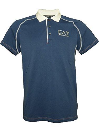 Emporio Armani Herren Poloshirt Blau