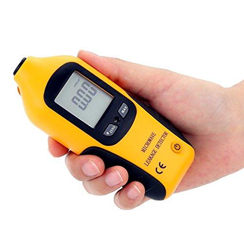 KKmoon Digital LCD EMF Messgeräte Elektromagnetische Strahlung Detektor Microwave Radiation Leakage Meter Leaking Tester 0-9.99mW/cm2