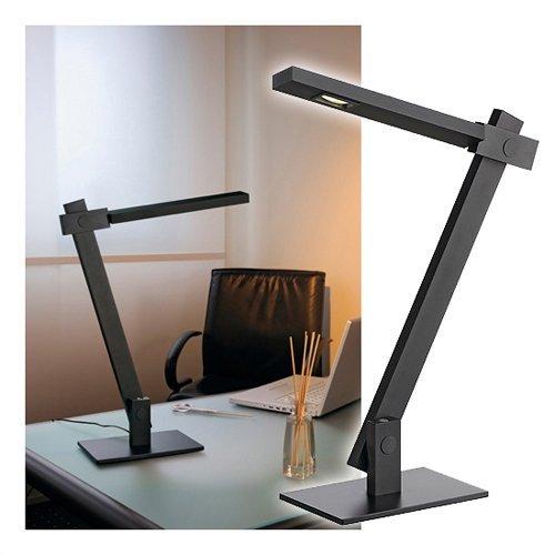 MECANICA lampe à poser, noire, LED 3000K