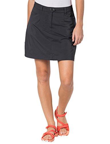 Jack Wolfskin Sonara Skort, leichter Damen Rock für Reisen und Freizeit, bi-elastischer und schnelltrocknender Hosenrock mit Geheimtasche, Rock und Shorts in einem