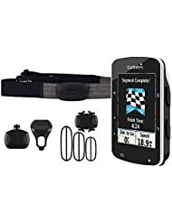 Garmin Edge 520 GPS-Radcomputer inkl. Herzfrequenz-Brustgurt, Trittfrequenz- und Geschwindigkeitssensor - Performance-/Trainingsanalyse, Smart Notifications