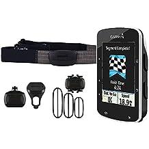 Garmin Edge 520 - GPS Connecté pour Vélo avec Ceinture Cardio et Capteur Cadence/Vitesse
