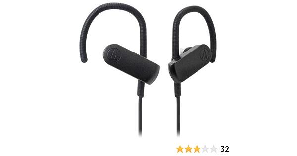 Audio Technica Ath Sport70btbk Bluetooth Sport Headphones Black