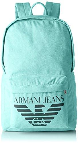 Armani Jeans Herren 9320747p923 Schultertaschen, 16x43x28 cm Grün (VERDINO 00286)