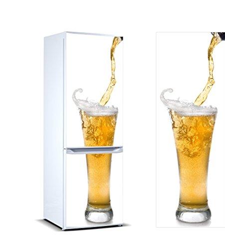 Pegatinas Vinilo Frigorífico Vaso Cerveza | Varias