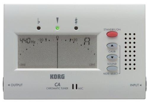 Korg CA40 Accordeur Chromatique Blanc