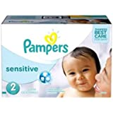 360 couches Pampers New Baby Sensitive Taille 2 Mini (3-6-kg)