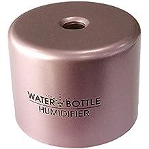 Humidificador de Aire Difusor Fabricante de Niebla Forma de Mini Agua Caps de Botella Portátil para Hogar Ofician Coches - Rosa
