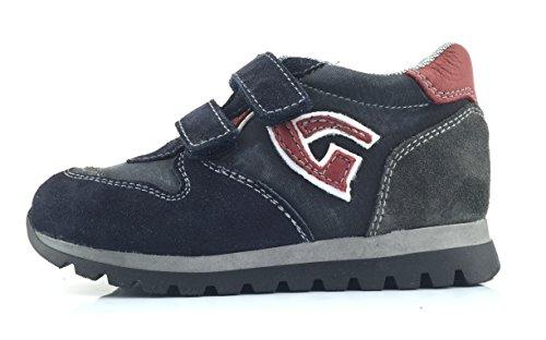 NERO GIARDINI junior sneakers basse strappo A623950M/200 (23)
