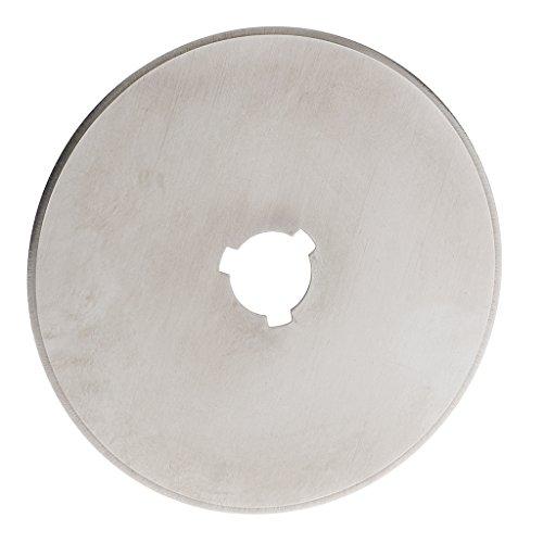 MagiDeal Ersatzklingen Rundklingen mit Rundloch für Rollschneider / Rollmesser Stoffschneider Rundklingen-Cutter Rotary Blade Patchwork Quilt - wie bild, 60mm
