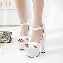 Amazon.it  scarpe tacco 18 cm 8f28d39e60f