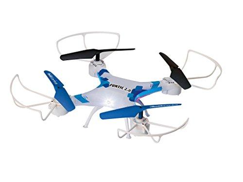 Revell Control RC Quadrocopter für Einsteiger, ferngesteuert mit 2,4 GHz Fernsteuerung, leicht zu fliegen durch Höhensensor & Headless-Mode, robust, wechselbarer Akku, Flip-Funktion - FUNTIC 2.0 23878