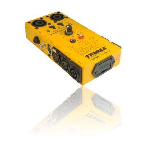 Universal-2,5-mm-stereo - (Universal/Kabel Tester für 3,5mm/6,35mm Buchsen, 3/5/8Pin DIN, 3/5Pin XLR)