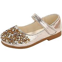 ebc9f4ae5 Zapatos de Vestir para Niñas Primavera Invierno 2019 PAOLIAN Sandalias  Fiesta Boda Lentejuelas Verano Calzado Bebe