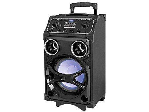 Trevi XF 1000 KB - Altavoces (Universal, De 2 vías, Piso, 100W, Giratorio, Negro)