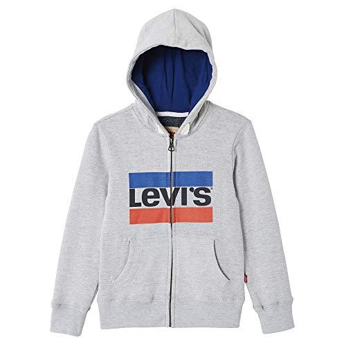 Levi's Kids Jungen Nn17017 22 Waistcoat Sweatshirt, Grau (Light China Grey), 14 Jahre (Herstellergröße: 14Y) China 14