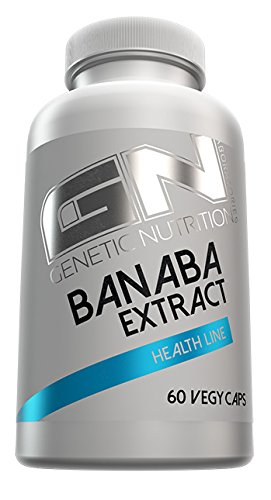 GN Laboratories Banaba Extract Health Line Fettabbau Insulinsensitivität Bodybuilding 60 Vegy Caps -