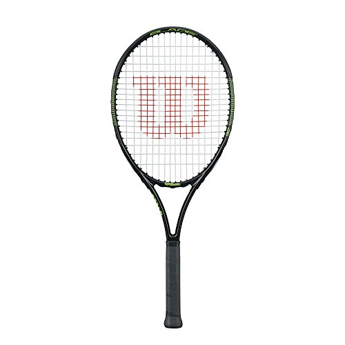 Wilson Blade 25 - Raqueta, Color Negro/Verde, Talla 25